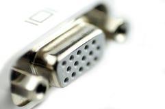 Connettore di VGA fotografia stock