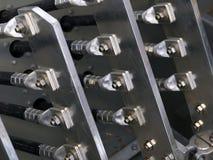 Connettori di cavo Fotografie Stock