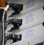 Connettori di potenza Immagine Stock