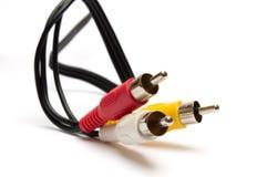 Connettori di RCA Immagini Stock