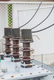 Connettori elettrici Fotografie Stock Libere da Diritti