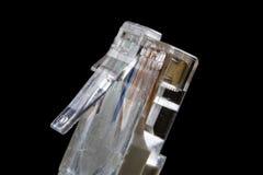Connettori elettrici ad alto ingrandimento Computer ed elettrico Immagine Stock