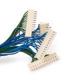 Connettori elettrici con cavo Fotografia Stock Libera da Diritti