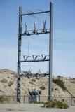 Connettori elettrici del trasformatore Immagini Stock