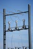 Connettori elettrici del trasformatore Immagine Stock Libera da Diritti