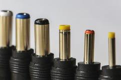 Connettori elettronici Immagini Stock