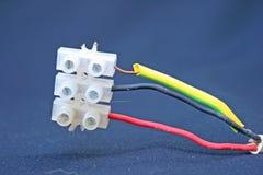 Connexion électrique. Photo libre de droits