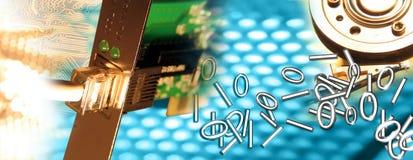 Connexion 1/3 illustration libre de droits