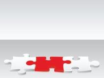 Connexion 1 de puzzle Images libres de droits