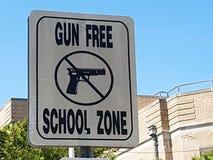 Connexion Atlantic City, NJ, Etats-Unis de zone d'école gratuite d'arme à feu Photo stock