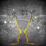 Connexion d'idées Image libre de droits