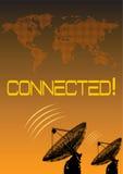 connexion dans le monde entier Images stock