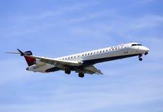 Connexion de Delta Airlines Image libre de droits