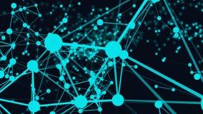 Connexion de la structure 3d Photos libres de droits