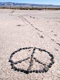 Connexion de paix le désert ouvert Photo stock