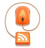 Connexion de RSS Photos libres de droits