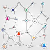 Connexion des personnes 28.05.13 Photo libre de droits