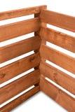 Connexion du bois - une vue détaillée de joindre plusieurs conseils images stock