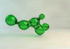 Connexion en verre vert Images libres de droits