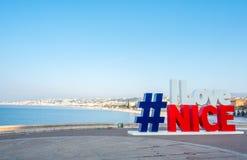 Connexion GENTIL de ` d'AMOUR du ` I Nice, France Photo libre de droits