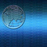 Connexion globale Photo stock