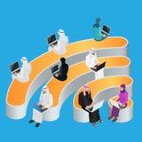 Connexion gratuite de radio de zone de point névralgique de Wi-Fi de public Concept social de communication de mise en réseau Images stock