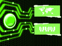 Connexion internet illustration libre de droits