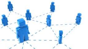 Connexion réseau illustration stock