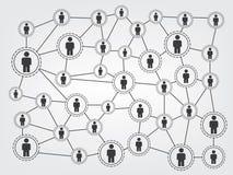 Connexion réseau Photos stock