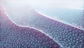 Connexion réseau abstraite de fond de Cloud Computing images stock