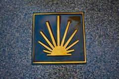 Connexion Zamora Espagne de James Way de saint Images libres de droits