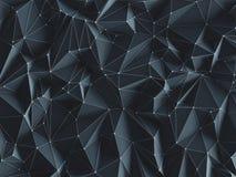 Connexions abstraites de fond Image libre de droits