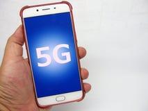 connexions de l'avenir 5G Images libres de droits
