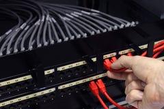Connexions réseau photos stock