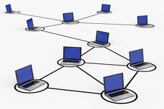 Connexions réseau illustration de vecteur