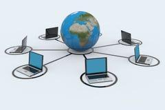 Connexions réseau illustration libre de droits