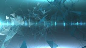 Connexions réseau Images libres de droits