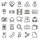 Connexions réseau sur le fond blanc photographie stock libre de droits