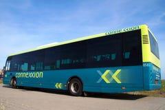 Connexxions-Bus - niederländische öffentliche Transportmittel Lizenzfreie Stockfotos