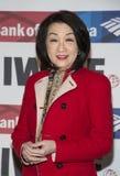 Connie Chung Imagens de Stock