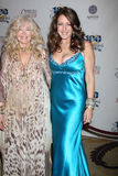 Connie Stevens, Joely Fisher Royalty Free Stock Image