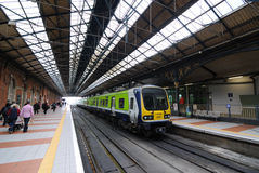 Connolly Station Platform Stock Photos