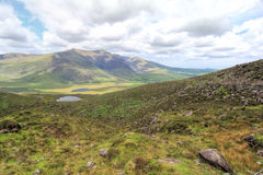 Connor Pass, Ireland Royalty Free Stock Photography