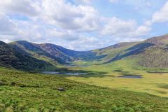 Connor Pass, Ireland Stock Images