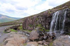 Connor Pass, Irlanda Fotografia de Stock Royalty Free