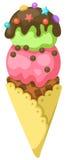 Cono de helado Imágenes de archivo libres de regalías