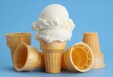 Cono de helado fotos de archivo