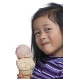 Cono de helado Imagen de archivo libre de regalías