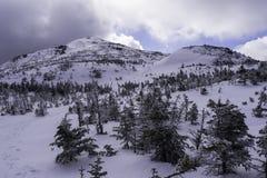 Cono de la cumbre de la montaña Fotografía de archivo libre de regalías