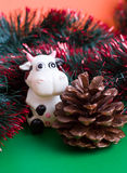 Cono de la Navidad imagen de archivo